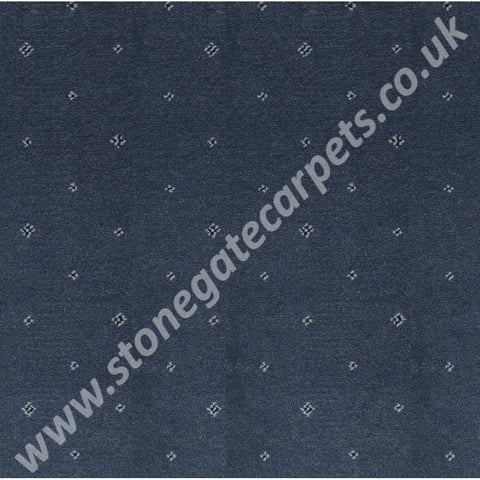 Ulster Carpets Tazmin Pindot Prussian 31/2724 (Please Call for per M² Cost)
