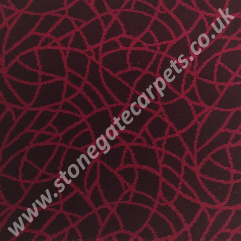 Ulster Carpets The Mix Crackle Cranberry 86839-2 (Please Call for per M² Cost)