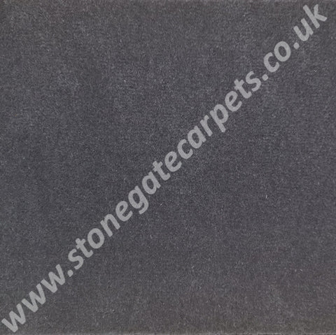 Ulster Carpets Ulster Velvet Charcoal W9718 Carpet Remnant - Less than Retail (Call for Price)