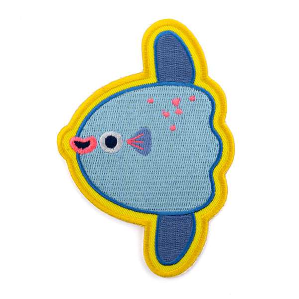 Mola Mola (Ocean Sunfish) - Sticker Patch