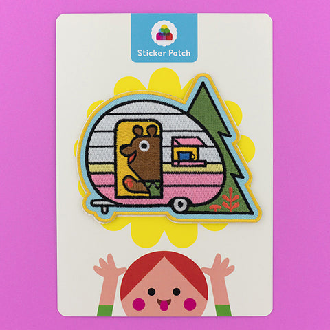 Camp Bear - Sticker Patch