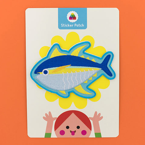 Yellowfin Tuna - Sticker Patch