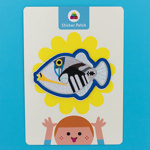 Picasso Triggerfish - Sticker Patch