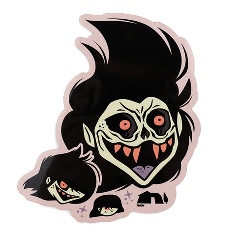 Sam's Transformation Sticker