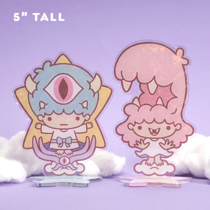 Little Twin Monstars – Acrylic Standee Set