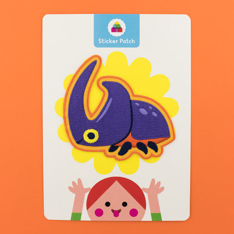 Rhino Beetle - Sticker Patch
