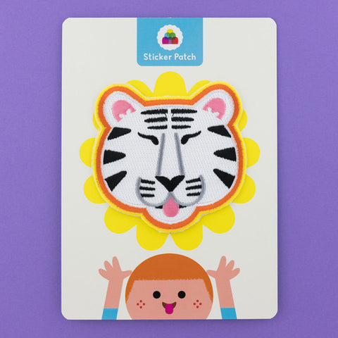 White Tiger - Sticker Patch