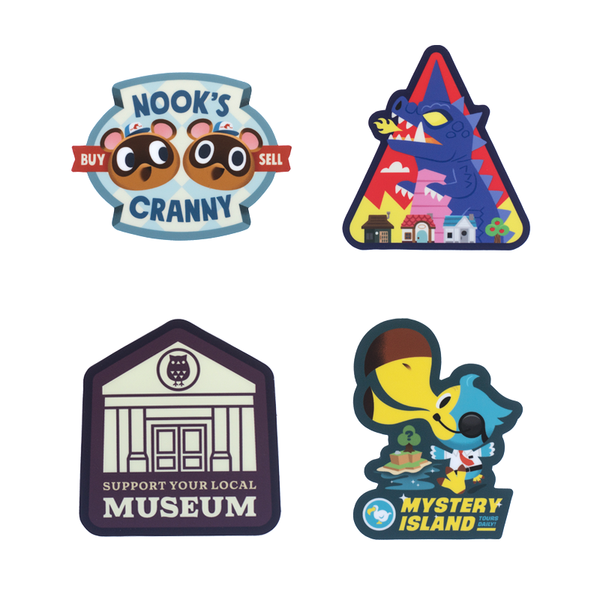Animal Crossing Inspired Sticker Pack