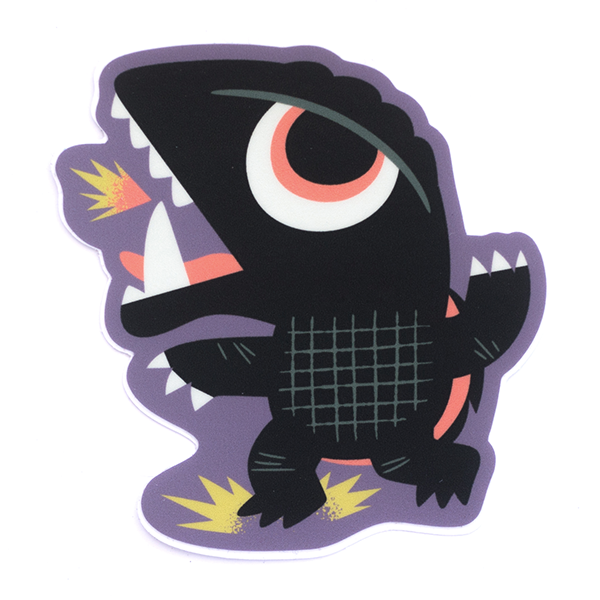 Fire Turtle Sticker