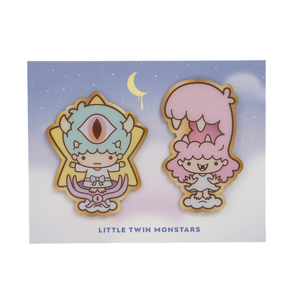 Little Twin Monstars – Pin Set