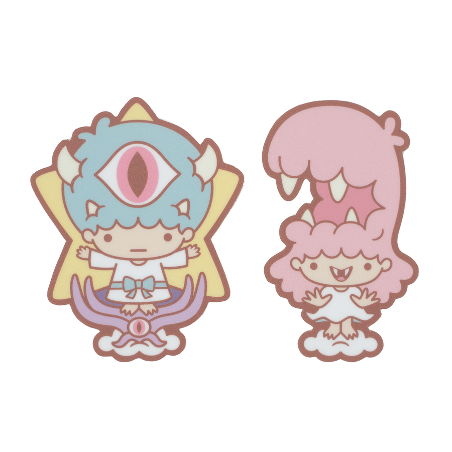 Little Twin Monstars - Sticker Set
