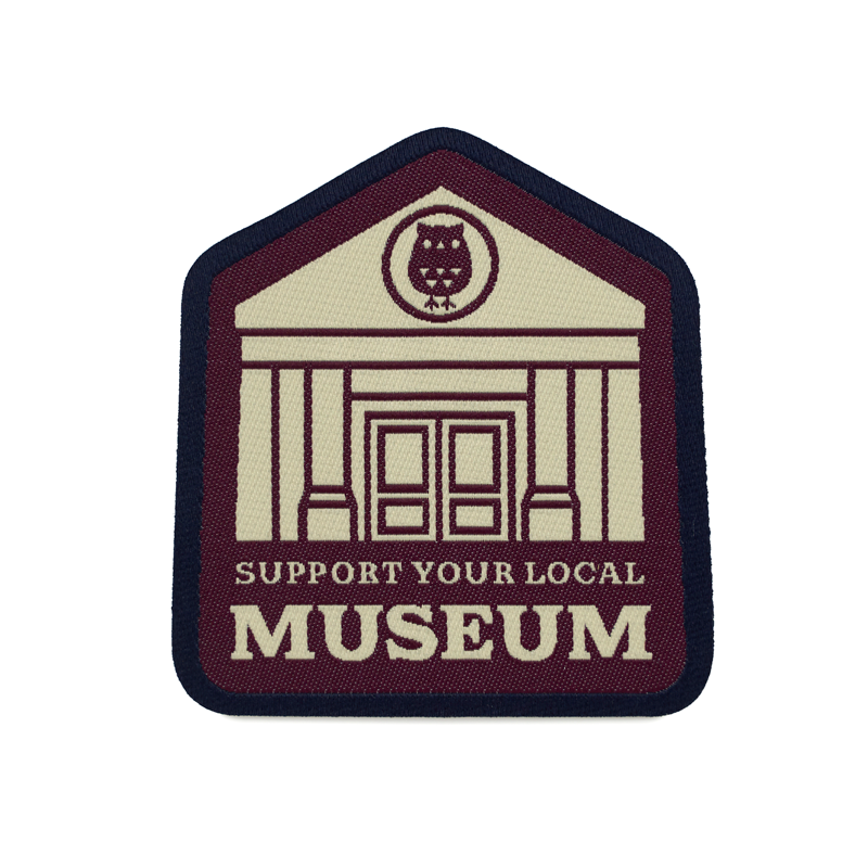 Support Your Local Museum - Woven Patch
