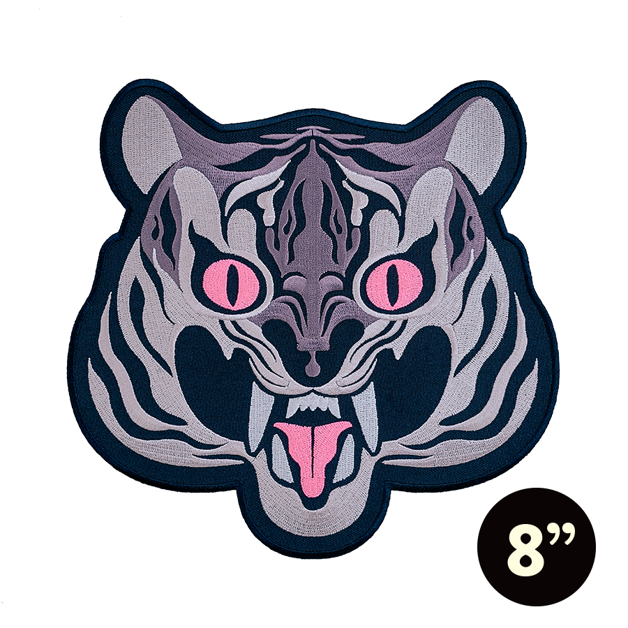 GIANT PATCH - Tiger Style