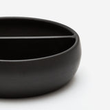 Black Pottery Bowl One
