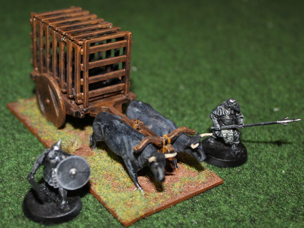 Converted Pegasus ox cart