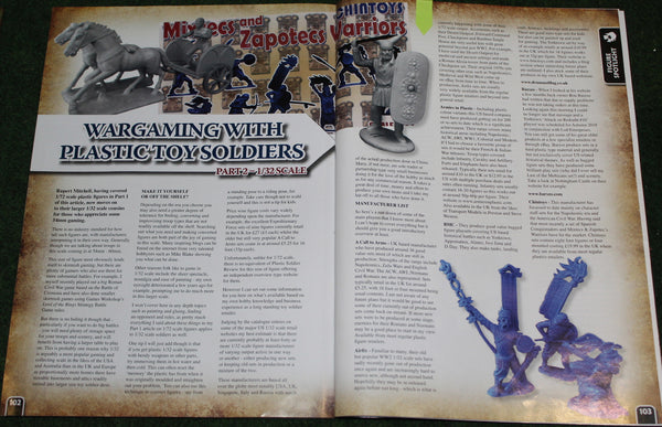 Wargames Ilustrated Magazine 1/32 scale figures