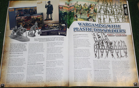 Wargames Ilustrated Magazine 1/72 scale figures