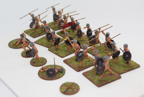 Victrix 28mm Gallic Fanatics - Conversions