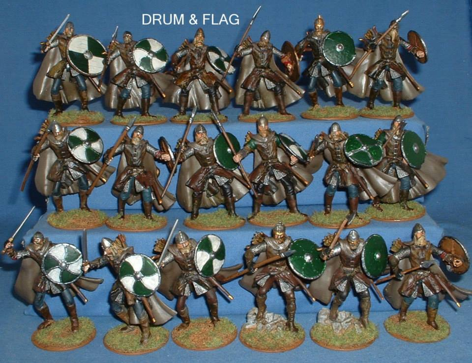 Armies of Middle Earth Rohan Conversions 60mm