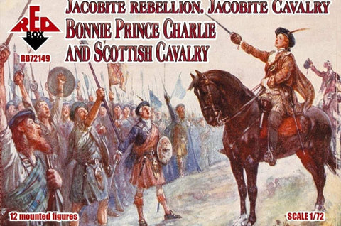 Red Box Bonnie Prince Charlie Jacobite Cavalry - Rebellion