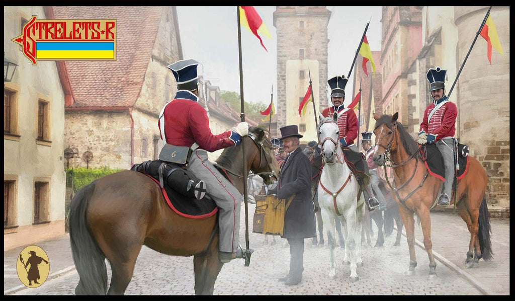 STRELETS NAPOLEONIC PRUSSIAN 7TH UHLANS