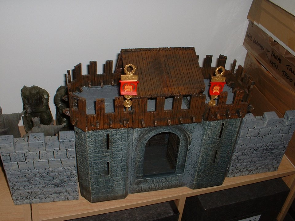 Roman Fort Gateway - Made from Play Along's Helm's Deep.