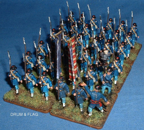 A Call to Arms Iron Brigade 1/72 scale Union Regiment