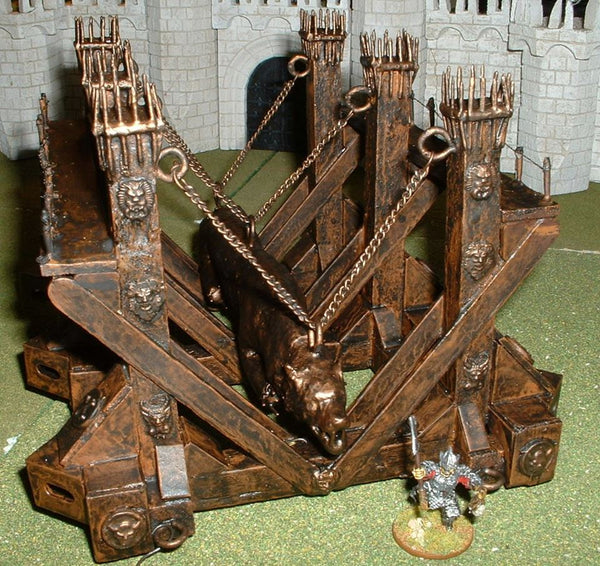 Home made Lord of the Rings Grond battering ram