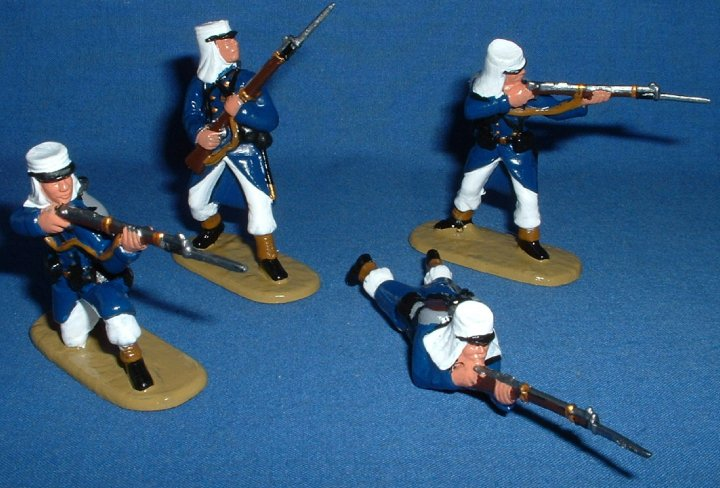 Armies in Plastic - French Foreign Legion. 1/32 scale. Gloss Style.