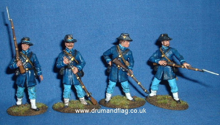 A Call to Arms Union Infantry The Iron Bigade 1/32 scale