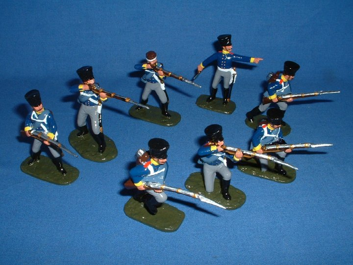 Armies in Plastic - Napoleonic Prussians 1/32 Scale - Gloss Style