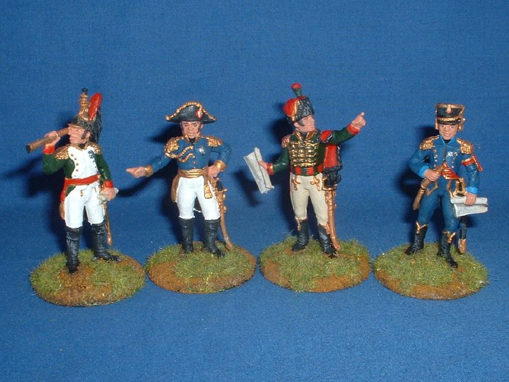 Italeri - French Napoleonic Imperial Staff - 1/32 scale.