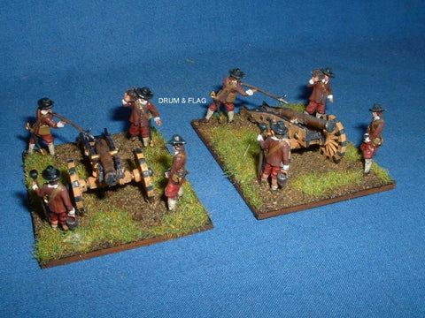 A Call to Arms English Civil War Royalist Artillery 1/72 Scale