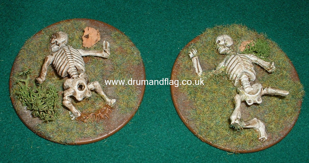 Skeleton Warriors - 60mm - Amscan - Old Battlefield (Hobby Post)