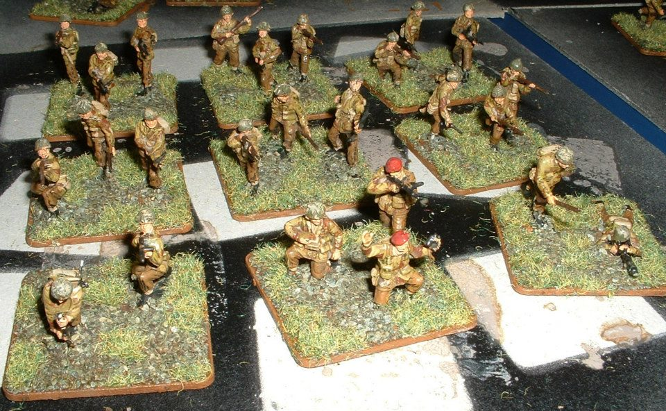 Mainly Waterloo1815 1/72 scale WW2 British Paratroopers