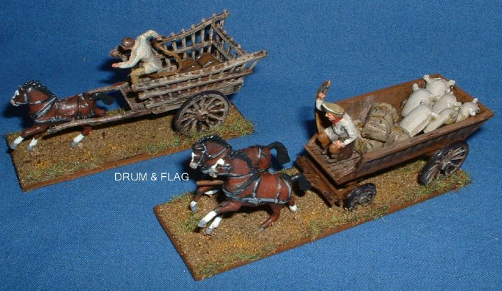 Airfix 1/72 scale Waterloo farm accessory Wagon & Cart
