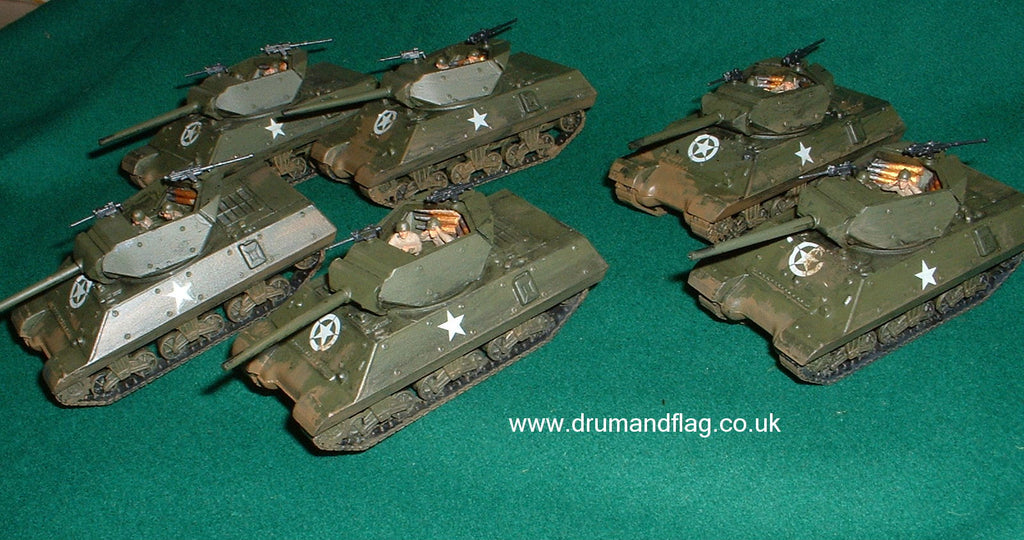 ARMOURFAST WW2 US M10 TANK DESTROYER PLATOON (Hobby Post)