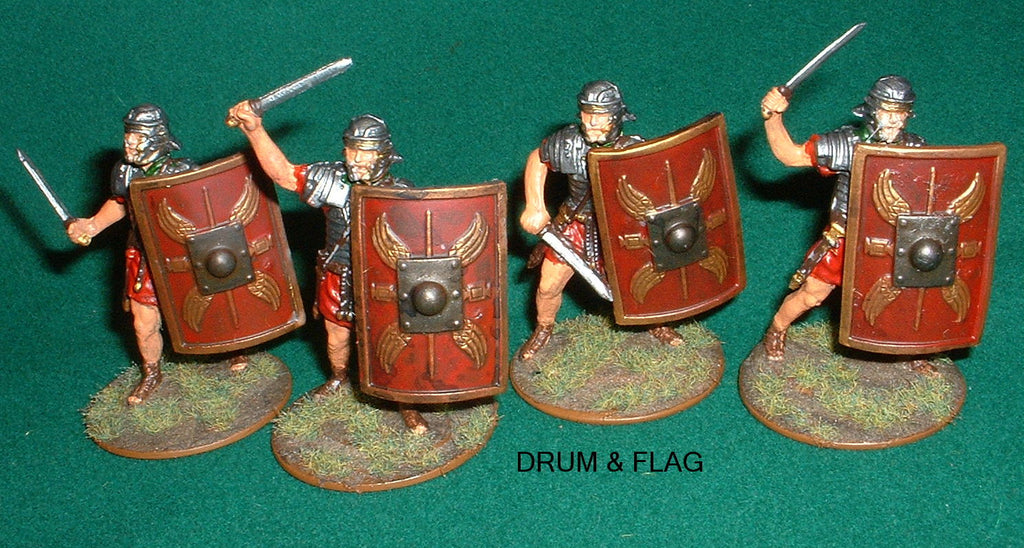 A CALL TO ARMS 1:32 SCALE IMPERIAL PLASTIC ROMAN INFANTRY - CONVERSIONS