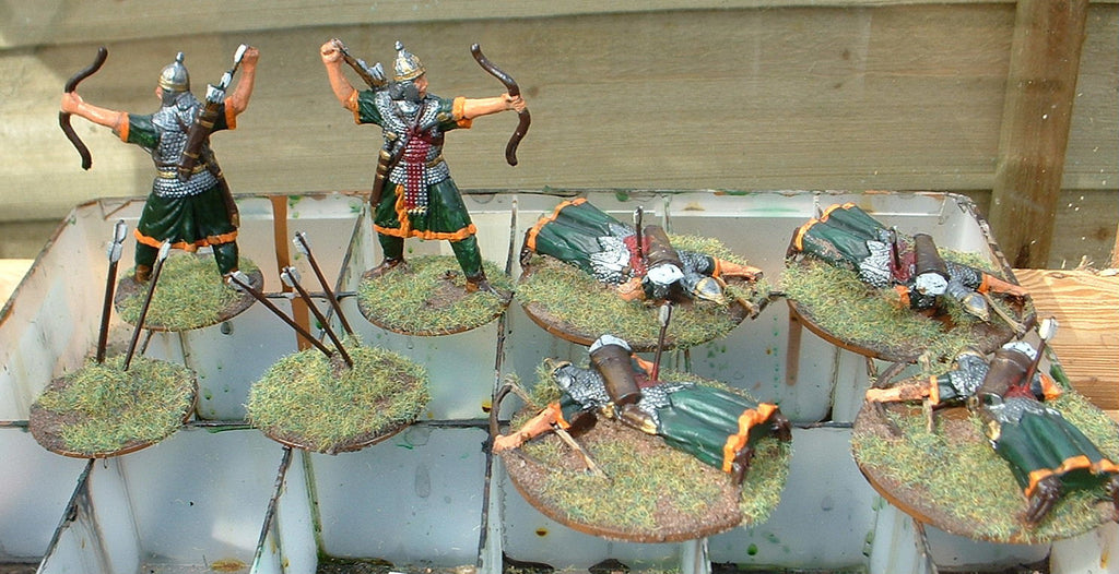 Early Imperial Roman Eastern Archers - Publius & Fabbri - 1/32 scale. (Hobby Post)
