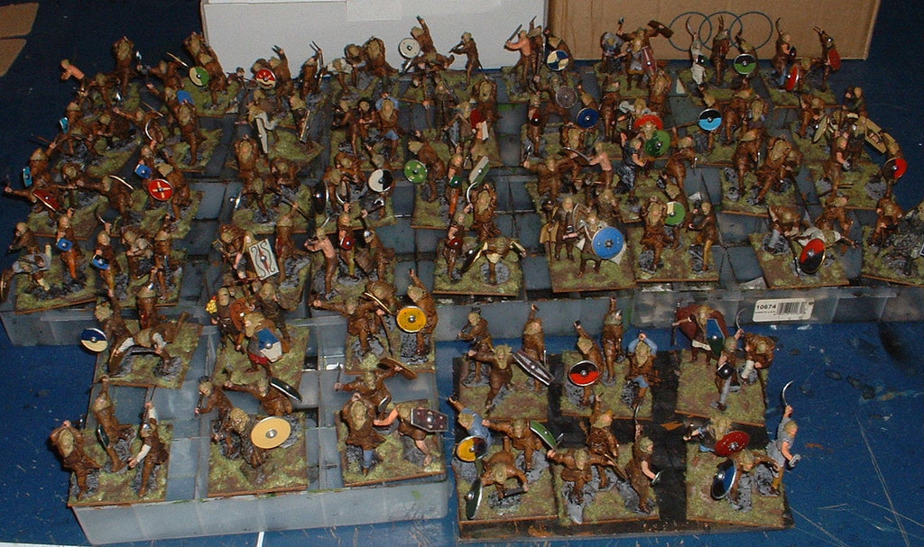 60mm Ancient German Army Completed. Hobby Post