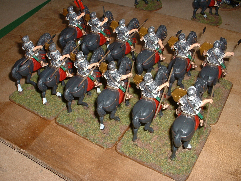 Roman Praetorian Cavalry. 1/32 scale metal. (Hobby Post)