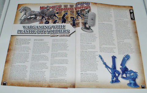 Drum & Flag Article in Wargames Illustrated Issue 371