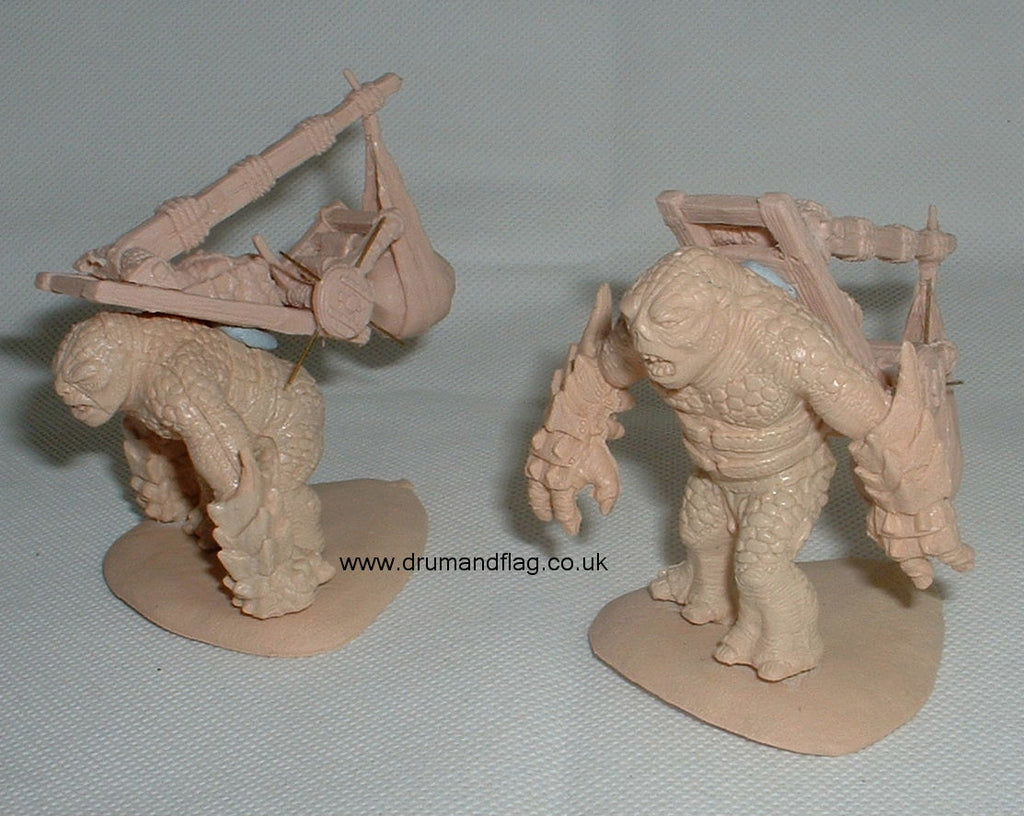 1:72 Scale - Dark Alliance Orc & Troll Catapults (Hobby Post)