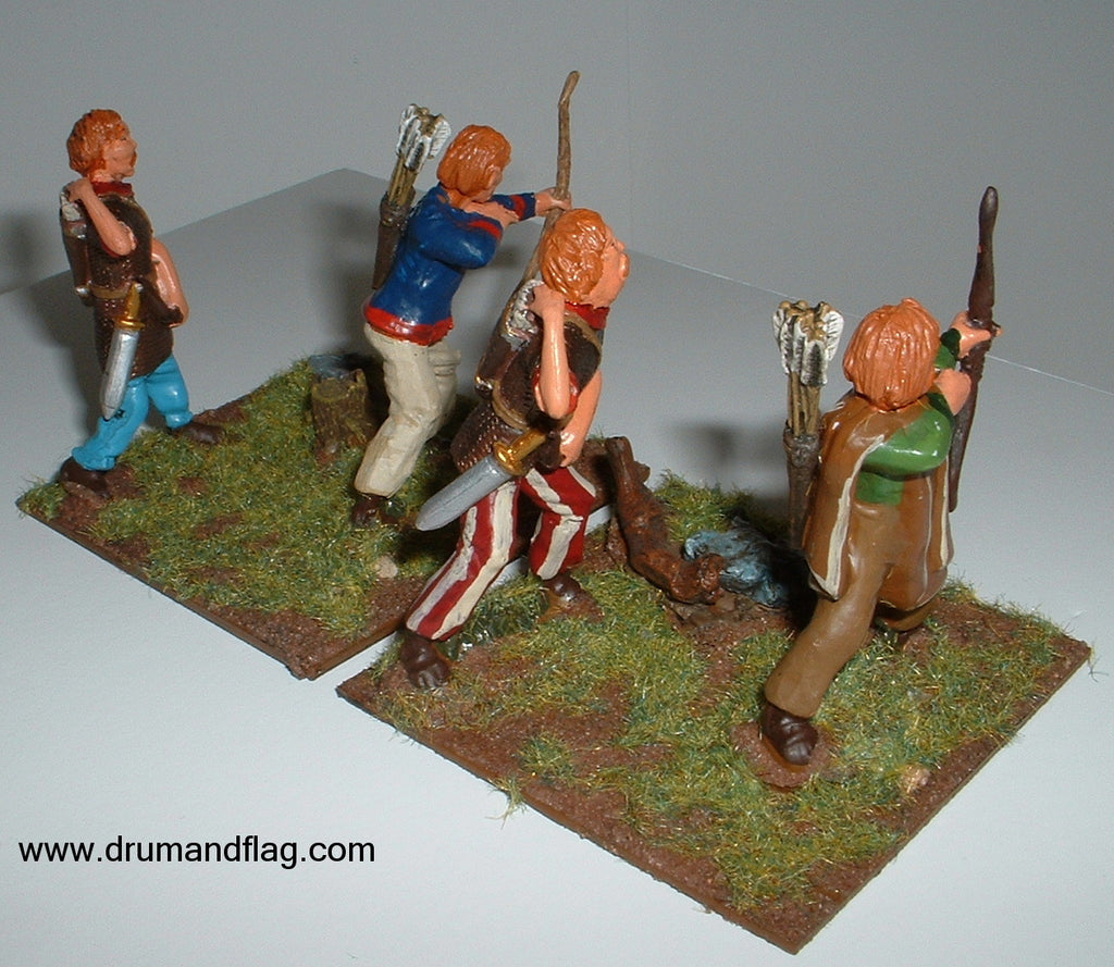 Gallic Archers - Conversions - 1/32 Scale (Hobby Post)