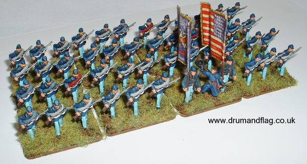 1/72 scale Union Troops