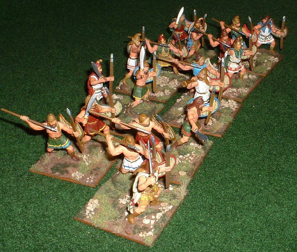 Thracian Light Infantry - Expeditionary Force 60mm plastics. (Hobby Post)