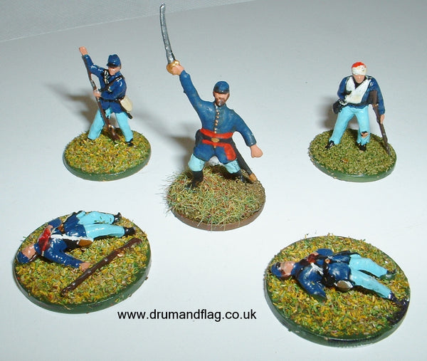 1/72 scale Union Markers
