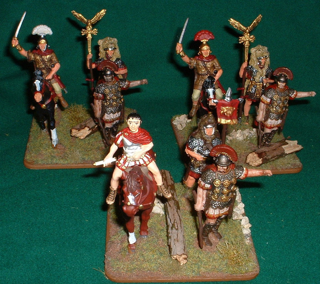 Roman Commander 1/32 scale various makes