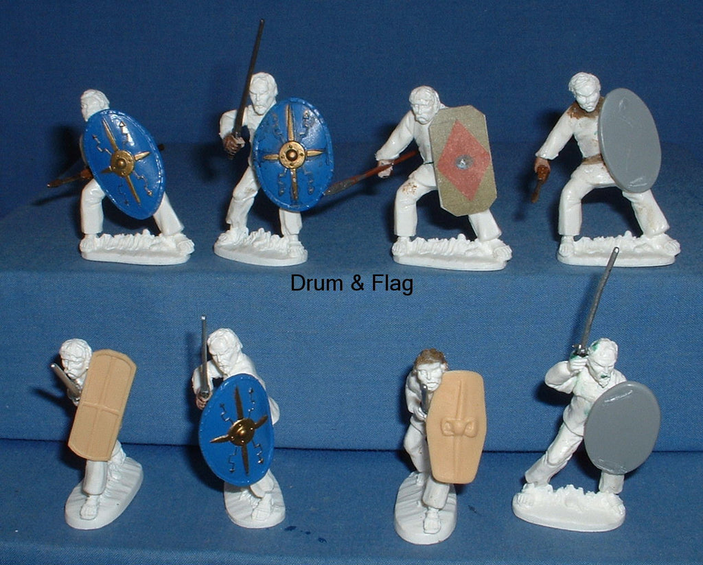 60mm Gallic Army - The gathering of the tribes. Hobby Post.