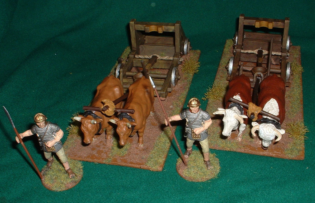 Converted Britains Roman Catapults 1/32 scale